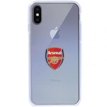Arsenal Transparent iPhone X Case